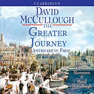 The Greater Journey audiobook cover art