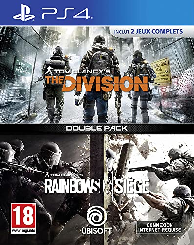 Compilation Tom Clancy's: Rainbow Six Siege + The Division PS4 - PlayStation 4 [Edizione: Francia]