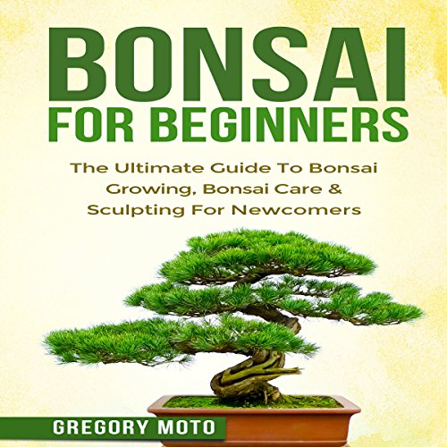 Bonsai for Beginners audiobook cover art
