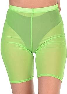 Women's High Waisted Spandex Biker Shorts
