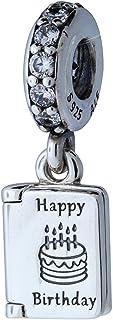 Pandora Birthday Wishes Silver Dangle Charm 791723CZ