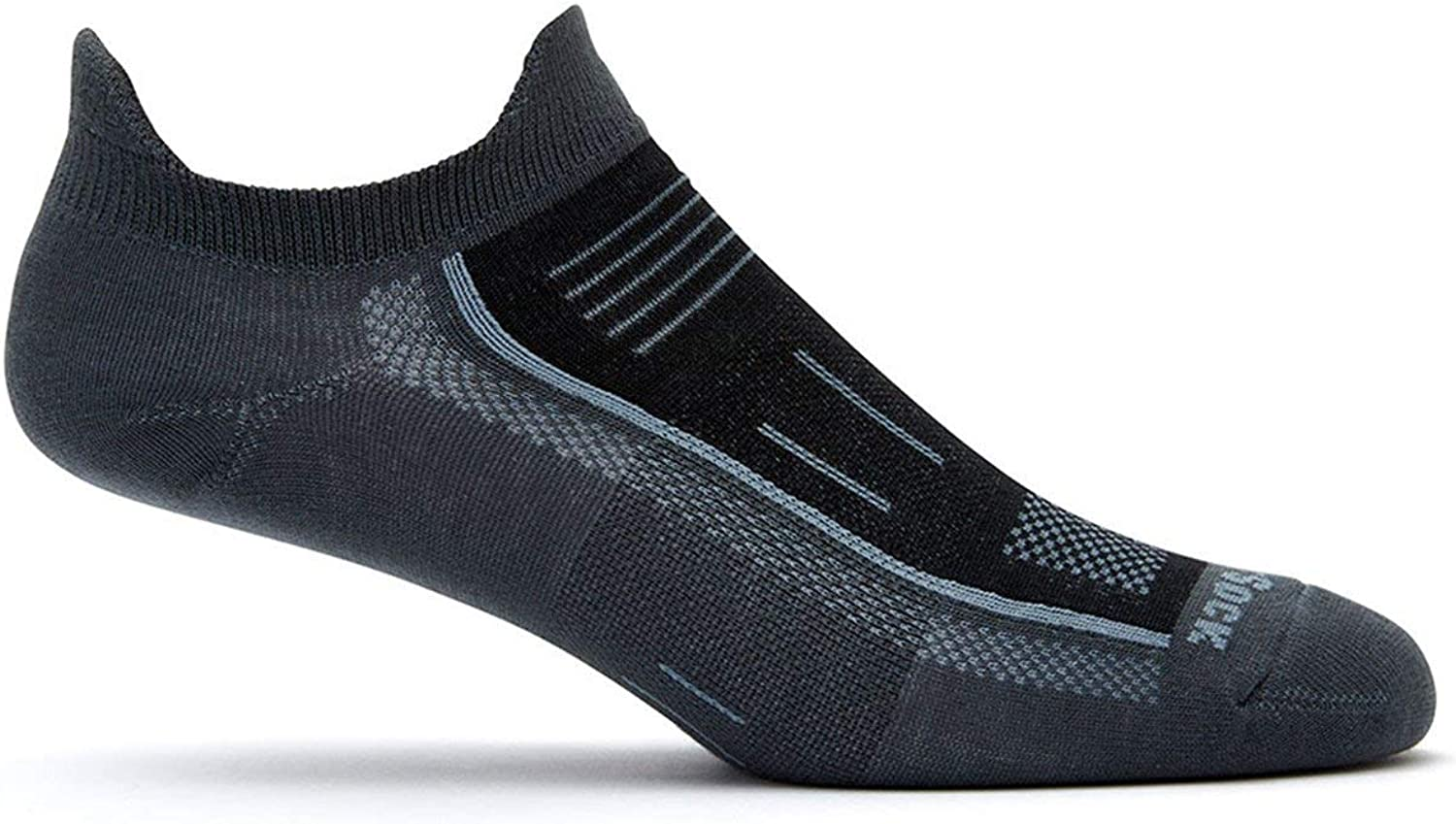 Wrightsock Endurance Double Tab Max 43% OFF Ash Black Shoe Men's 5-8 Wo MD Max 56% OFF