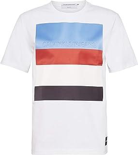 Calvin Klein T-Shirts For Men, White, Size XXL