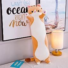 Plush Pillow Toy أفخم وسادة مكتب قيلولة وسادة عيد الميلاد هدية عيد لعبة لعبة Kids' Throw Pillows (Color : Orange 130cm)