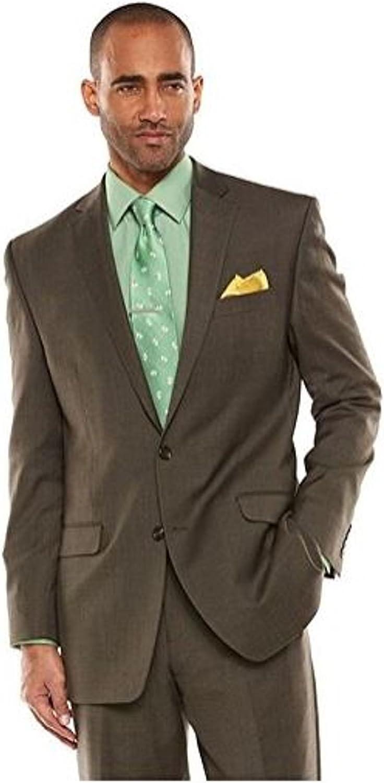 Chaps Performance Men's Wool Blend Comfort Fit Stretch Suit Jacket
