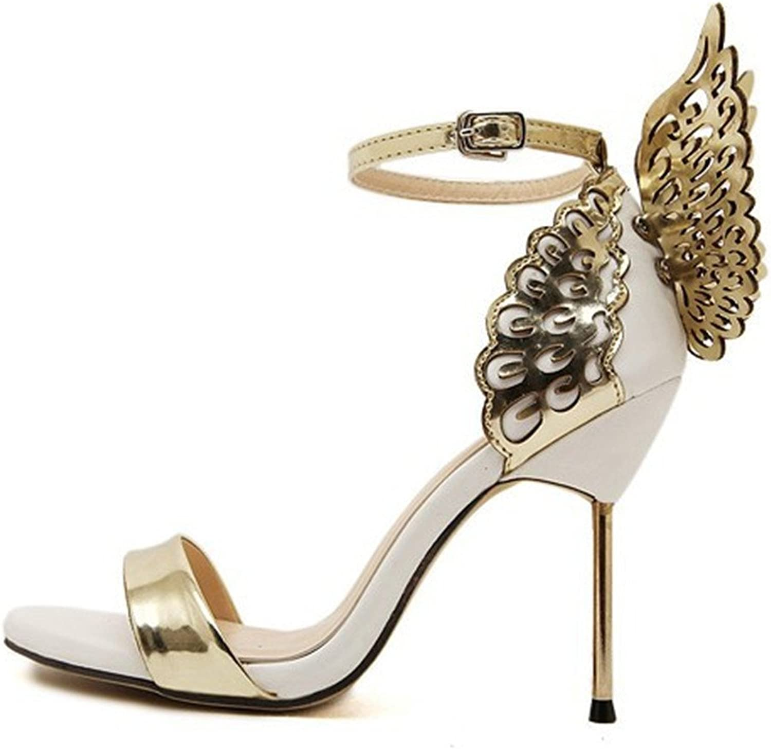 Quality.A Women shoes Luxury Summer High Heel Sandal shoes Ladies Sandal Sexy for Party