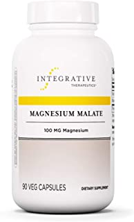 Integrative Therapeutics - Magnesium Malate - 100 mg of Elemental Magnesium - 90 Capsules