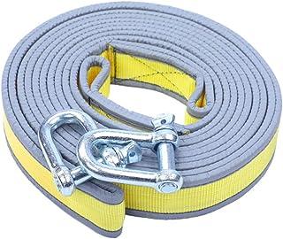 Garneck Corda de reboque de recuperação de corda de reboque de espessamento reflexivo, correia de reboque de emergência pa...