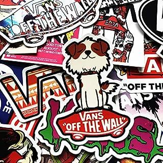 Aofocy Premium 50pcs Art Stickers pour Ordinateur Portable Macbook Skateboard Snowboard Bagages Valise