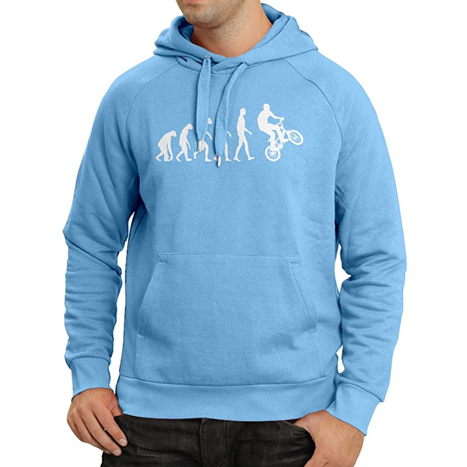 Hoodie Human Evolution and Bike - Bicycling – Bicycle Accessories, Cycling Apparel