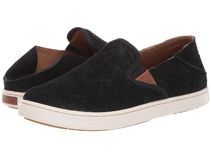 Pehuea Leather  Shoes (Black Kapa/Black) Women's Shoes