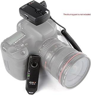 Remote Shutter,Viltrox JY-120-C1 2.4GHZ FSK Wireless Remote Shutter Controller Set Time Lapse BULB with C1 Cable 100m Distance for Canon 60D 70D 600D 650D 700D Pentax K5 K5II K7 K30 K10D K20D K200.