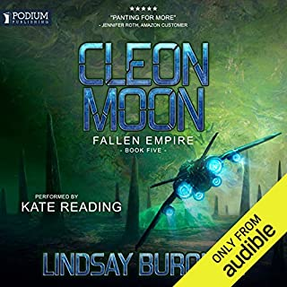 Cleon Moon audiobook cover art