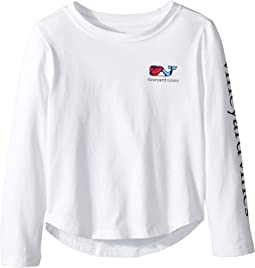 33203e973 Long Sleeve Puzzle Whale Tee (Toddler Little Kids Big Kids). Like 5. Vineyard  Vines Kids