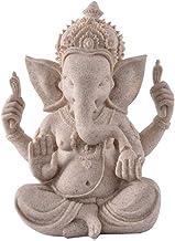Home Accessories Elephant Statue Sculpture,Ganesha Buddha Figurine,Collection Ganesh Statue Gray 8.3Inch