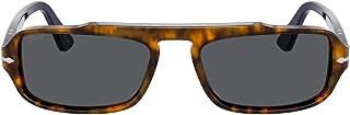بيرسول PO 3262S هافانا/رمادي 54/18/145 نظارة شمسية للجنسين