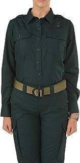 5.11 Tactical Women's Taclite PDU Ripstop Uniform Work Class A Long-Sleeve Button-Up Shirt, Style 62365