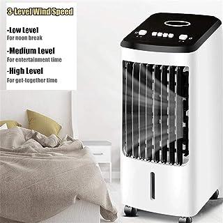 YGTMV Aire Acondicionado Portátil,4L Climatizador Evaporativo,70W Humidificador Y Purificador Air Cooler Fan Mini Ventilador 220V para Seguridad del Dormitorio