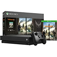 Microsoft Xbox One X 1TB Console with Tom Clancy's The Division 2 Bundle