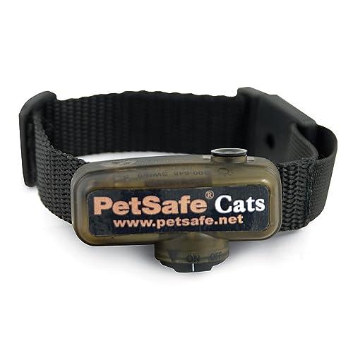 PetSafe - Collier Anti-Fugue pour Chat Supplémentaire pour Clôture Anti-Fugue avec Fil pour Chat PetSafe - 4 niveaux de Stimulation - Collier pour Chat Léger et Ajustable