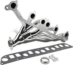 For Jeep Wrangler Cherokee High Performance Stainless Steel Exhaust Header Kit (Polished Chrome) YJ TJ XJ ZJ