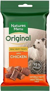 Naturmeny riktiga köttiga godbitar med kyckling, 12 x 60 g