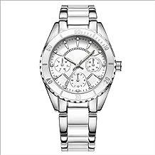 Fashion Ceramic Steel Belt Ladies Watch Waterproof Fashion Watch Luminous Quartz Watch