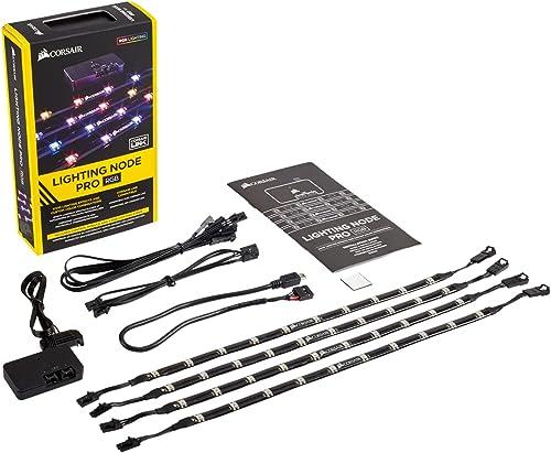 Corsair Lighting Node Pro - Controlador de iluminación RGB con tiras RGB LED controlable individualmente