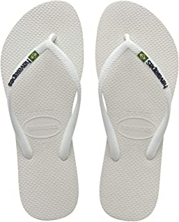 Havaianas Slim Brasil Logo Slippers For Women