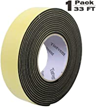 Tintvent Foam Insulation Tape Adhesive,EVA Sponge Tape Foam Rubber Seal, Doors, Weatherstrip, Waterproof, Plumbing, HVAC, Windows, Pipes, Cooling, Air Conditioning, Weather Stripping, Craft Tape