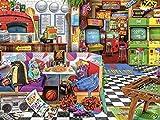 Buffalo Games - Aimee Stewart - Pizza Arcade - 1500 Piece Jigsaw Puzzle