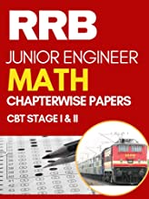 RRB JE Maths Chapterwise Solved Previous Papers: CBT Stage I Exam 2nd Edition