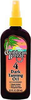 Caribbean Breeze SPF 4 Dark Tanning Oil, 8.5 oz (250 ml)