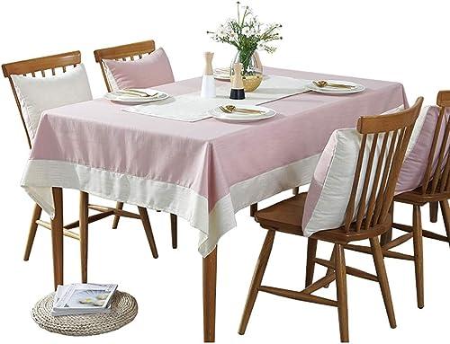 Hongsebuyi Tischdecke Baumwolle Und Leinen Rechteckige Tischdecke Einzigartige Party Tischdecke Tee Tischdecke Geeignet Für Home Office Meeting Hotel (Größe   110x160cm)