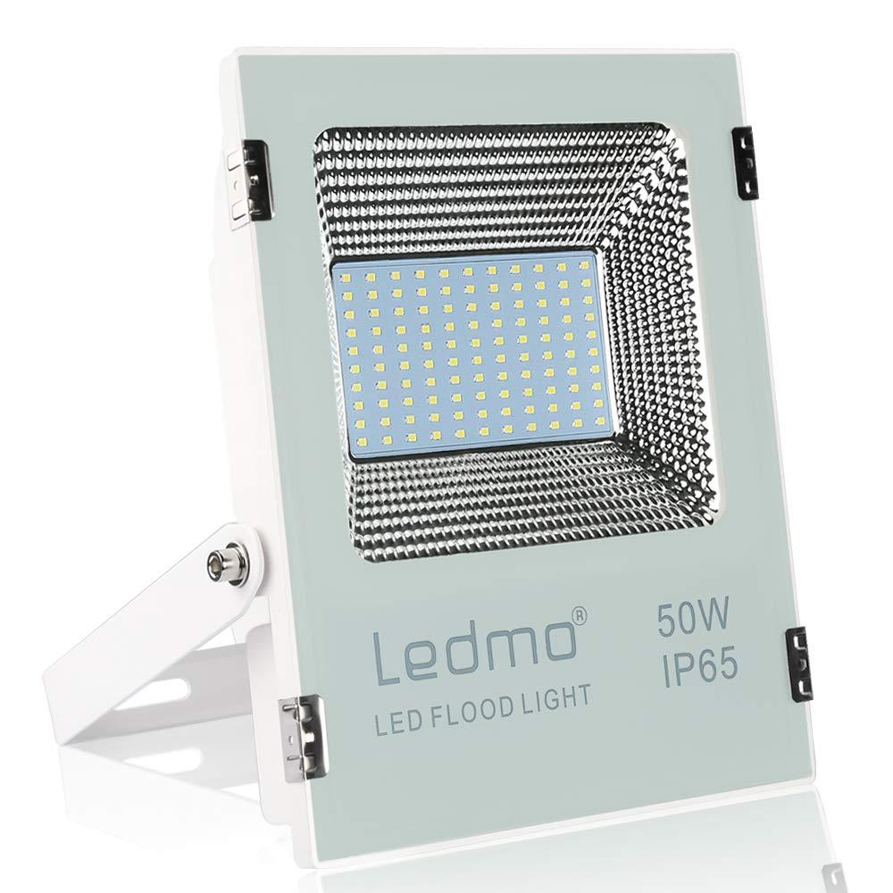 focos led exterior 50W Blanco 6000K,focos led 5000LM Resistente al ...
