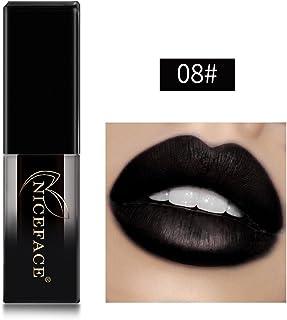 JUTOO Brillo de labios de degradado cuadradoNuevo Lencería de labios Lápiz labial líquido mate Maquillaje de brillo de lab...