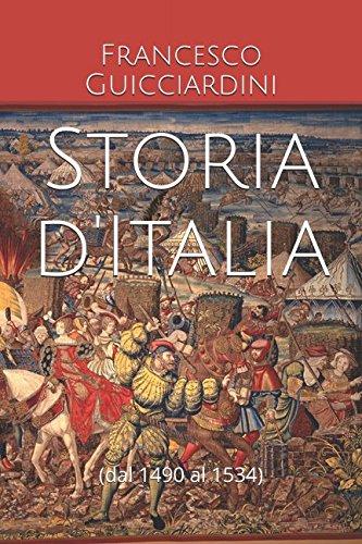 Storia d'Italia: (dal 1490 al 1534)