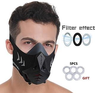 FDBRO Sports Mask Pro Workout Training Mask Fitness,Running,Resistance,Cardio,Endurance Mask for Fitness Training Sport Mask