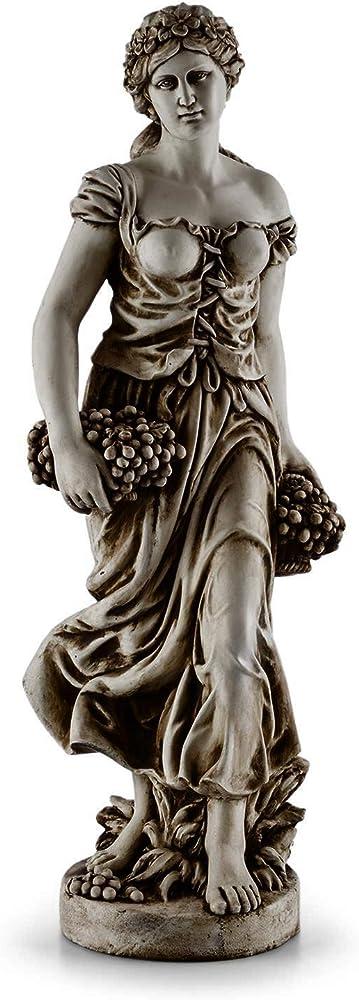 Blumfeldt,  statua, dea greca, 1.2 m altezza, in fibra di vetro e cemento in ossido di magnesio GDMB9-Ceres