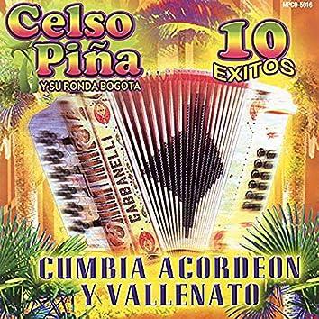 Cumbia, Acordeon Y Vallenato