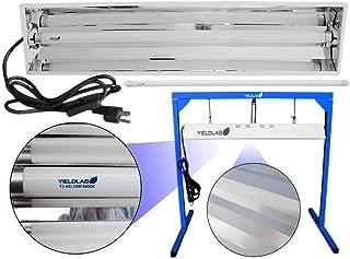 Yield Lab Complete 24w 2 Foot 1 Bulb T5 Fluorescent Grow Light Kit (6400K)