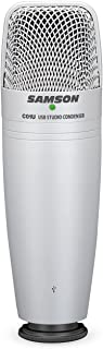Samson CO1U - Micrófono de condensador USB de estudio