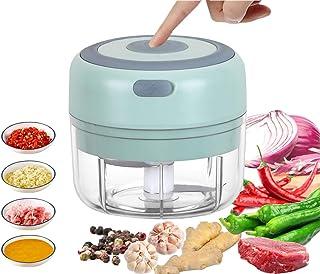VOUM Mini Electric Food Chopper, Powerful Cordless Electric Vegetable Chopper/Fruit Chopper/Garlic/Vegetable/Meat etc. Kit...