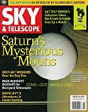 Sky & Telescope March 2006 Magazine SATURN'S MYSTERIOUS MOONS: NASA'S CASSINI ORBITER REVEALS THE RINGED PLANET'S FROZEN, ROCKY MOONS TO BE DYNAMIC AND PERPLEXING
