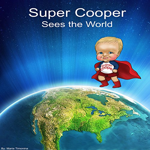 Super Cooper Sees the World audiobook cover art