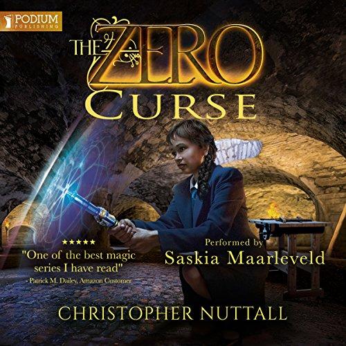 The Zero Curse audiobook cover art