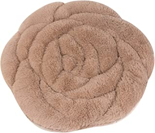 Nesee Soft Cozy Seat Cushion Plush Rose Seat Pad Seat Pillow Relieves Back Coccyx Sciatica and Tailbone Pain Relief Chair Cushions Chair Pads for Home Office Sofa Car Wheelchair