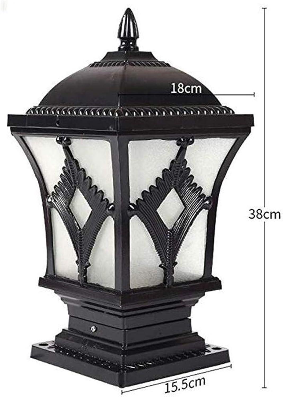 Kunst-Lampen Retrohngelampe Deckenleuchte Wandleuchte-Pfosten-Lampe Scheinwerfer-Solarlicht-Tür-Licht-Garten-Lichter Geführte Tür-Pfosten-Lampen-Landhaus-Europische Wandlampe