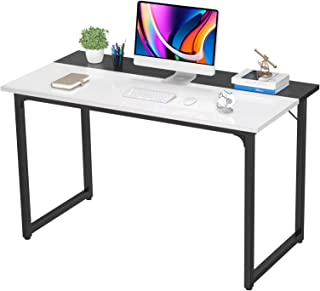 Sponsored Ad - Desk Computer Desk 39 Inch Home Office Desk Writing Desk with Drawers Easy to Assemble Study Desk Laptop PC...