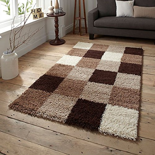 Brown Rugs for Living Room: Amazon.co.uk